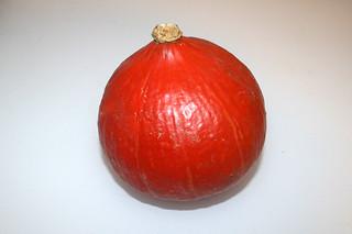 01 - Zutat Hokkaido-Kürbis  / Ingredient hokkaido pumpkin