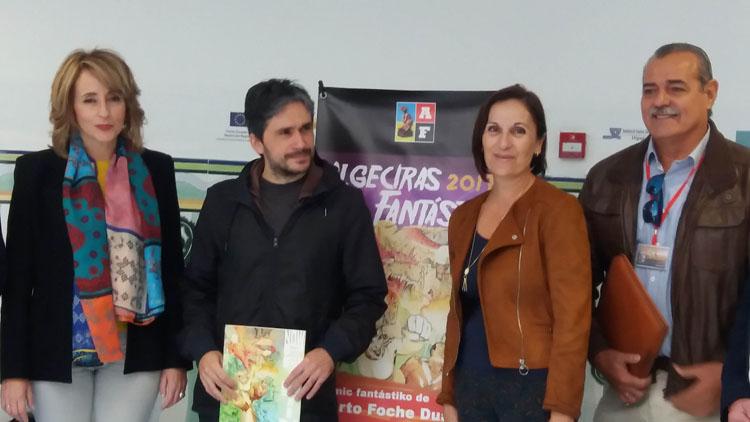 EXPOSICIÓN DE ARTES FANTASTICAS EL COMIC FANTASTIKO DE ALBERTO FOCHE DUARTE2