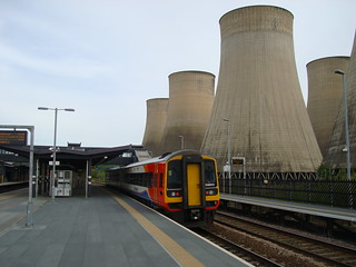 Diesel multiple unit 158810 at East Midlands Parkway