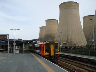 Diesel multiple unit 158810 at East Midlands Parkway