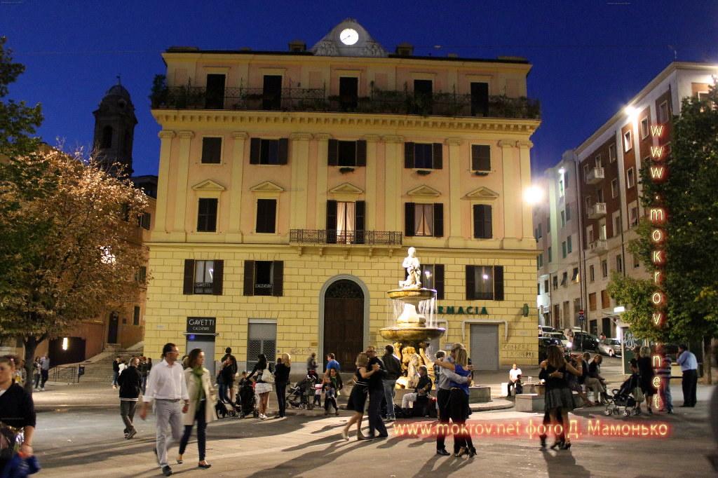Исторический центр Анкона — город-порт в Италии фотозарисовки