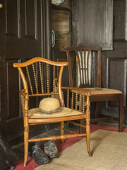 in Beatrix Potter's house ... more chairs