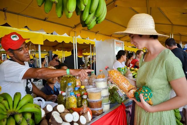 Arroz, feijão, sucos, farinha, doces, verduras, frutas e legumes serão vendidos na loja - Créditos: Maxwell Vilela