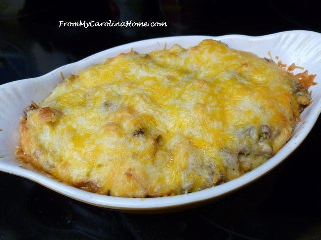 Holiday Breakfast Casserole at From My Carolina Home