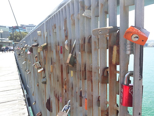 <p>Wellington, copying Paris. With less success.<br /> <br /> 117 Photos Challenge: 70. Locks</p>