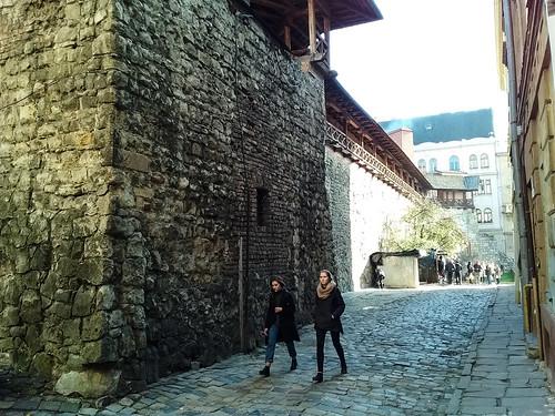 Lviv Silah Müzesi Yan Sokağı