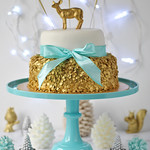 Sequin Christmas Cake 2