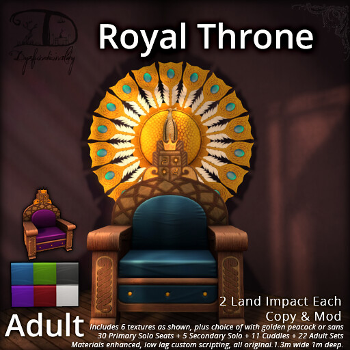 Royal Throne - TeleportHub.com Live!