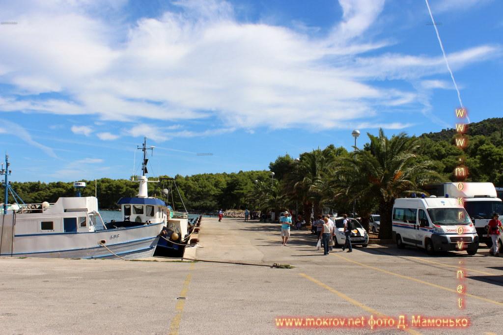 Хвар — остров в Адриатическом море, в южной части Хорватии фотозарисовки