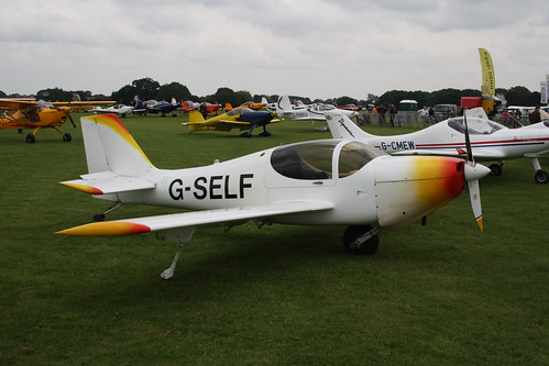 G-SELF Europa [PFA 247-12996] Sywell 030917