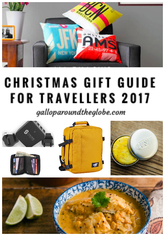 Christmas Gift Guide for Travellers 2017