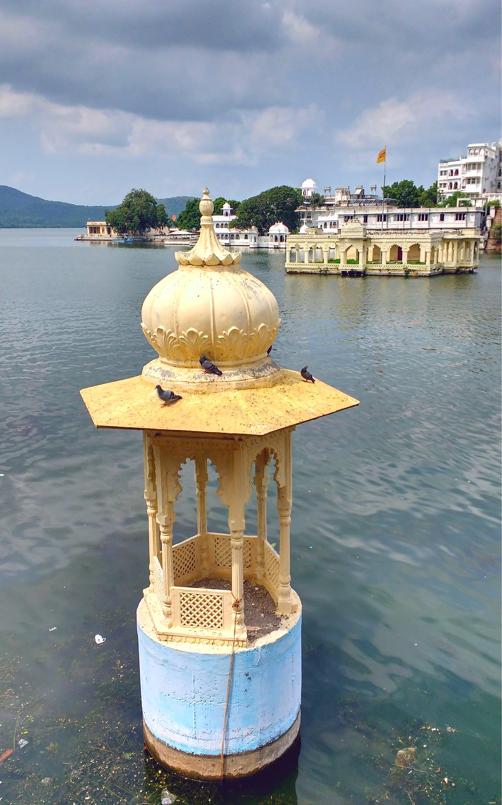 The Chhatri in water