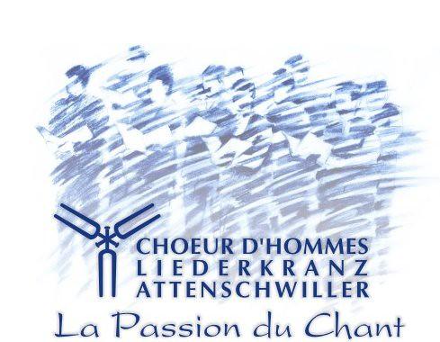 Choeur d Hommes Liederkranz - Logo étendu
