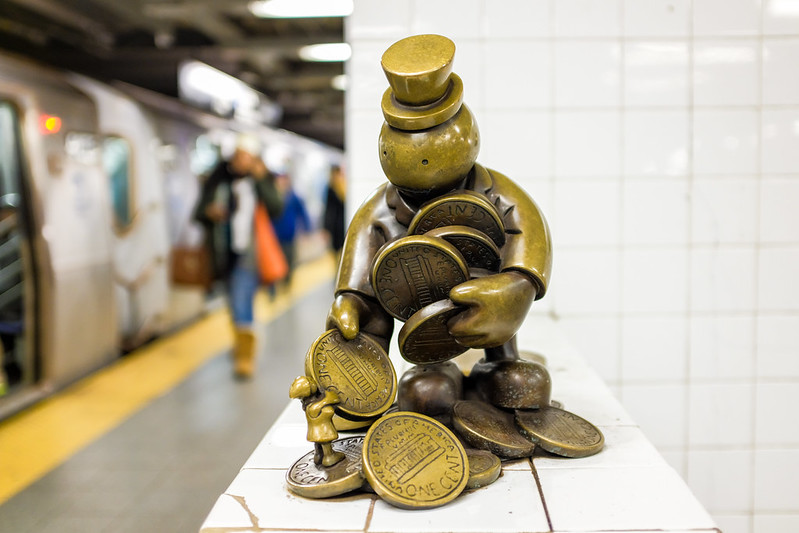 Walk In New York - NYC 2017 - Tom Otterness -Life Underground - 14th Street Eighth Avenue (3)