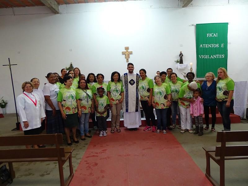 Celebração de 15 anos da Pastoral da Criança