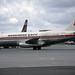 Boeing 737-205 LN-SUP Gatwick 29-5-71