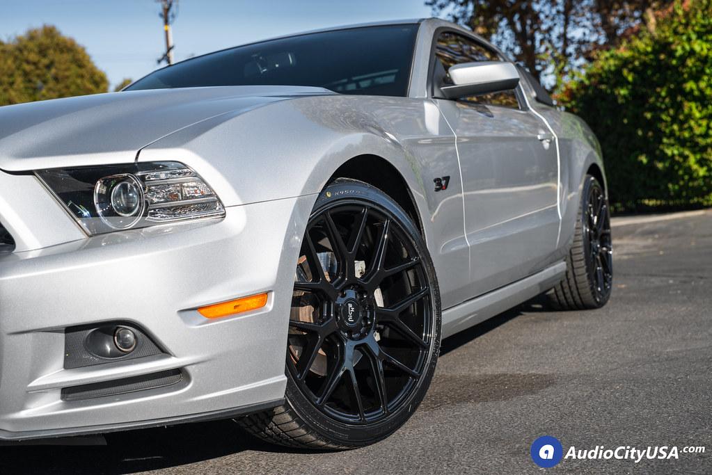 Niche Wheels Mustang >> 2014 Ford Mustang 3 7 20 Niche Wheels Intake Gloss Black