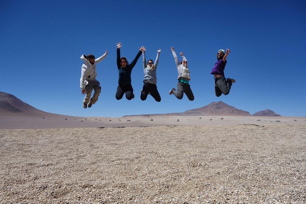Uyuni - Desert de Salvador Dali - Jump 1