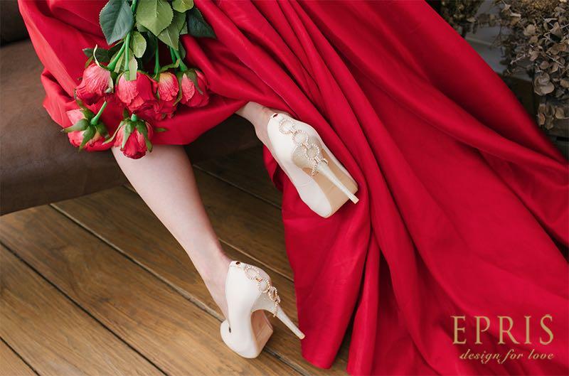 裸色婚鞋,晚宴鞋,低跟婚鞋推薦,好穿婚鞋,平價婚鞋推薦,好穿婚鞋推薦,艾佩絲EPRIS婚鞋