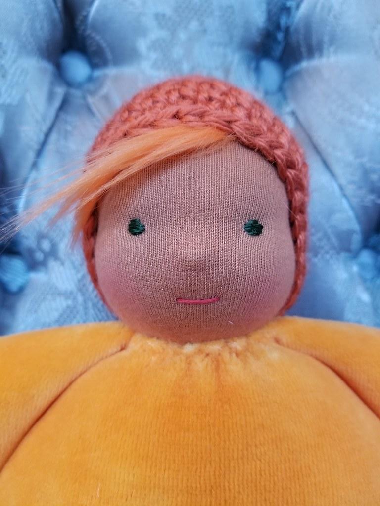 Snuggle Baby #39 - Tangerine