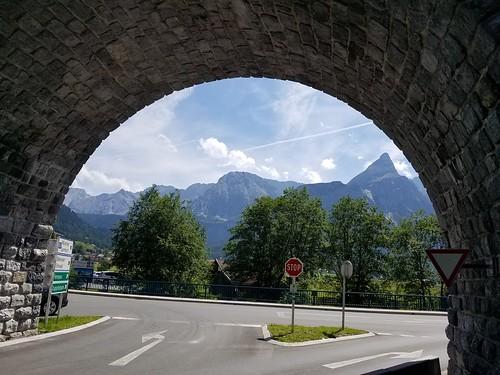 オーストリアとドイツの国境付近