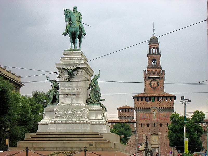 Piazza del Duomo Milan Northern Italy
