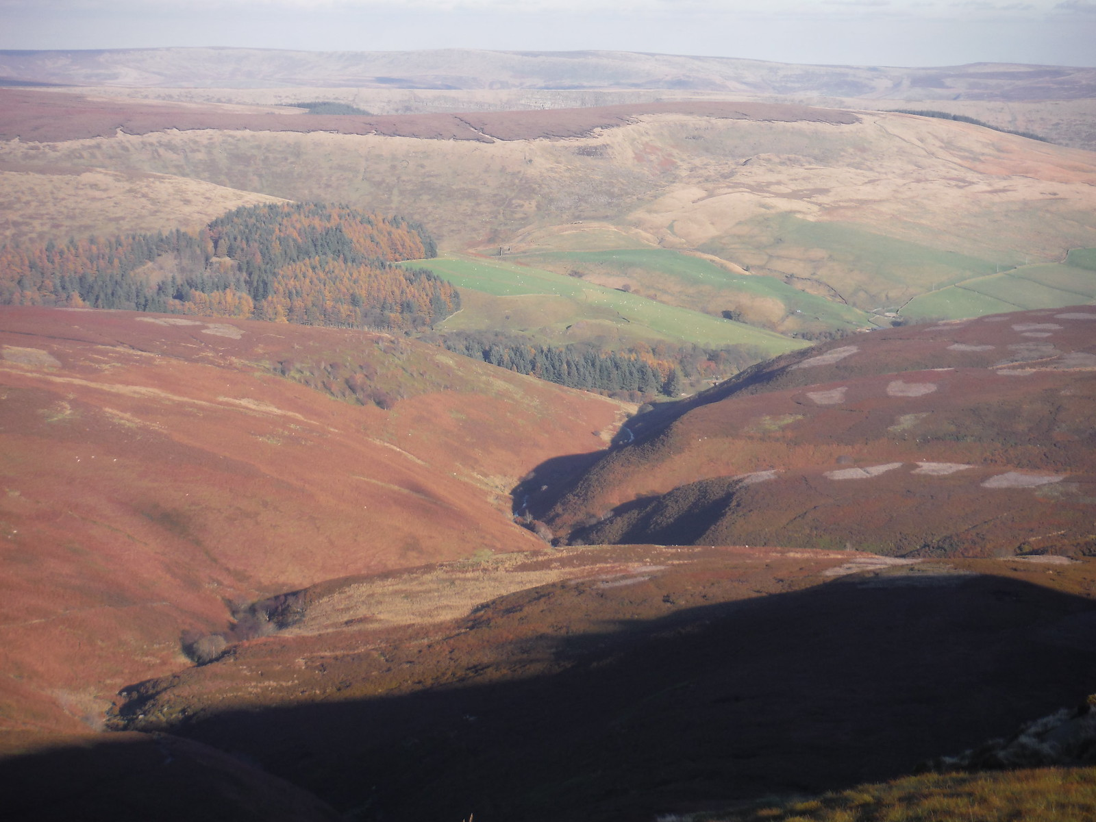 Fairbrook Clough SWC Walk 304 - Kinder Scout Circuit (from Edale)