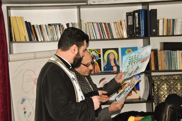 """Cerc de arta plastica la Biserica """"Adormirea Maicii Domnului"""" din Tecuci"""