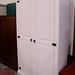 Tall white wardrobe E290