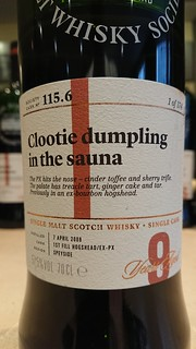 SMWS 115.6 - Clootie dumpling in the sauna