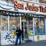 San Judas Tadeo Pharmacy, 520 West 207th Street, Inwood, New York City