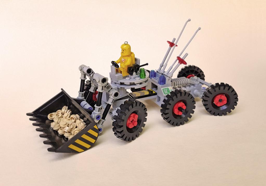 NCS excavator rover