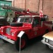 Land Rover fire engine @North West Museum of Road Transport