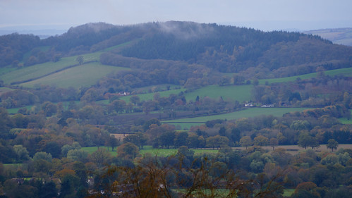 Malvern Hills: view from the ridge