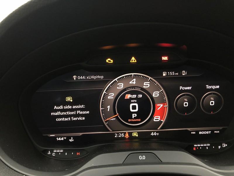 RS3 Sedan OBDeleven