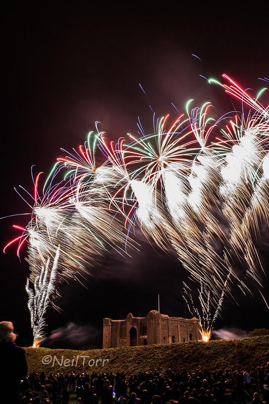 Castle Rising Fireworks 2