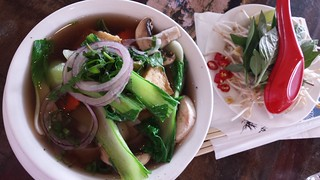 Vegan Pho at Cafe O'Mai