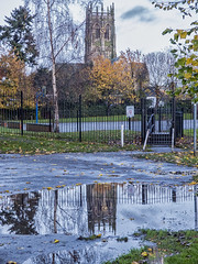 Church St Augustine's puddle