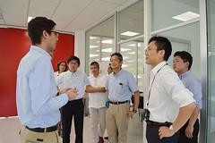 Recibe TecniA a expertos japoneses en propiedad intelectual