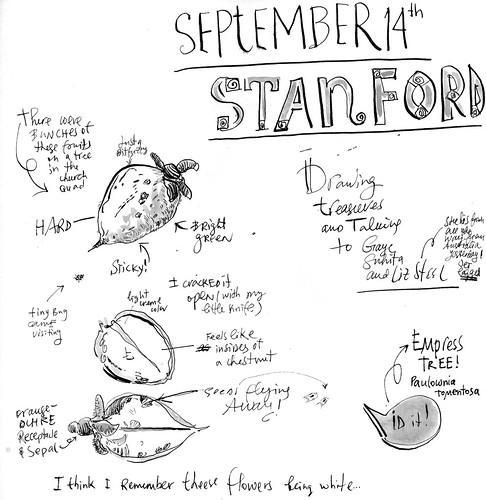 Sketchbook #1008: Liz visit to the Bay Area