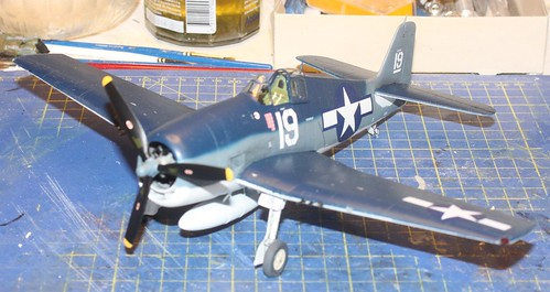 """Grumman F6F-3 Hellcat, """"Vit 19 Vraciu"""", Eduard 1/48 - Sida 3 38546045361_1043961560"""