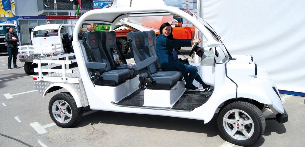 электрический гольф-кар Tigarbo