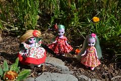 Emerald Witch Dolls