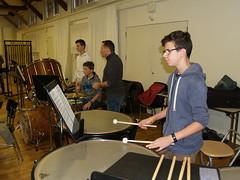 Probe-Samstag mit Jugendmusik Lyss