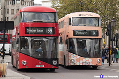 Wrightbus NRM NBFL - LTZ 1161 - LT161 - Bumble - Aldwych 9 - RATP Group London - London 2017 - Steven Gray - IMG_5260