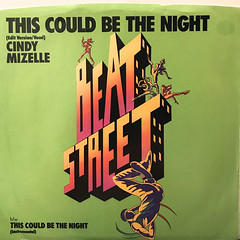 CINDY MIZELLE:THIS COULD BE THE NIGHT(JACKET A)
