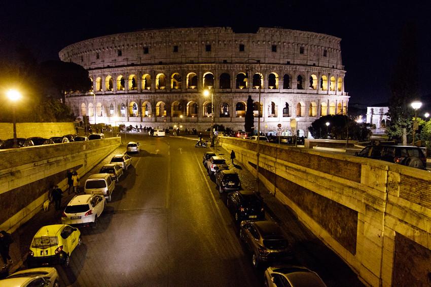 rooma colosseum forum romanum-1945