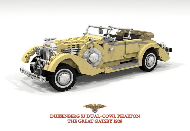 Duesenberg SJ Dual-Cowl Phaeton - 1929 The Great Gatsby