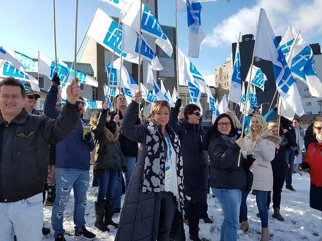 2017-12-01 - Manifestation à l'Hôtel Dieu de Lévis