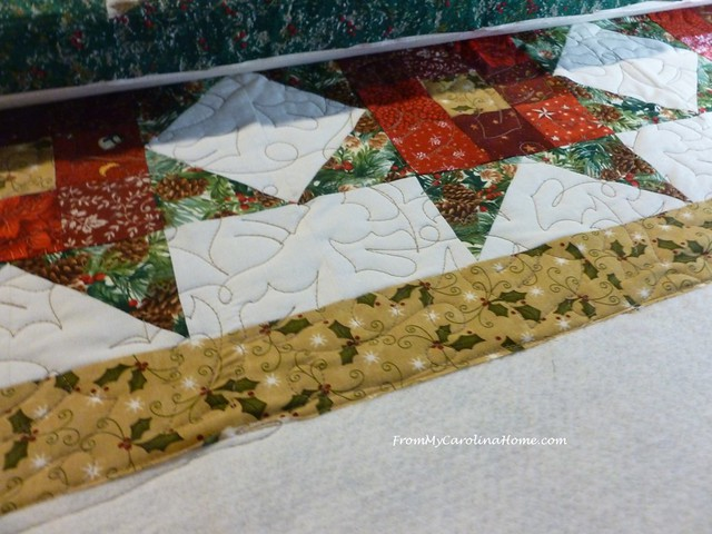 Nine Patch Star Quilt Along at From My Carolina Home
